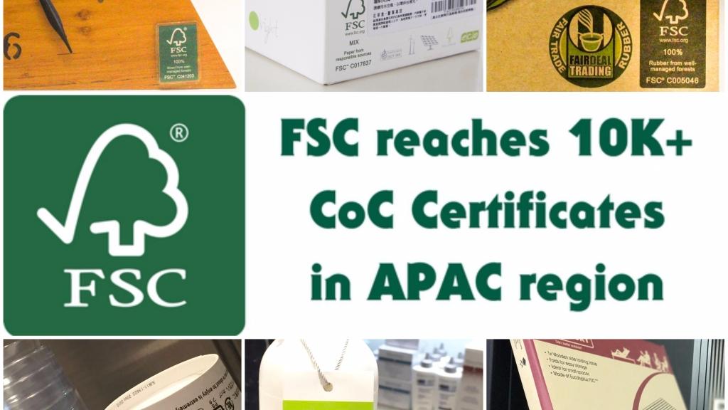 FSC CoC Certificates