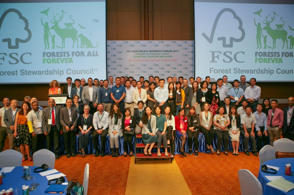 FSC Asia Pacific Business Forum Group Picture