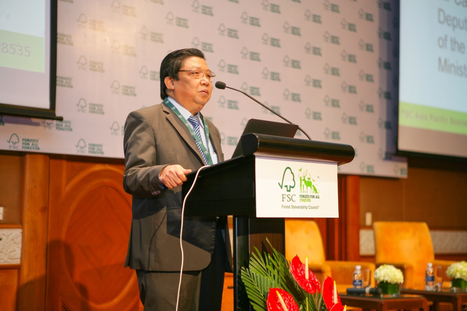 Mr Cao Chi Cong, Deputy General Director of the Vietnam Administration of Forestry from the Ministry of Agriculture and Rural Development