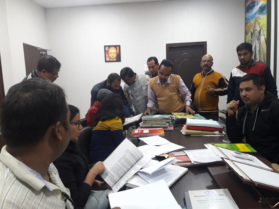 Assam 2. Meeting with Mr Suvasish Das IFS Divisional Forest Officer Nagaon(Assam)