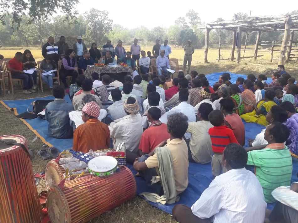 Odisha 5a. Meeting with local communities in Rantal Gram Panchayat